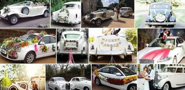 Den perfekte bil til brylluppet