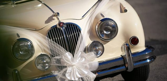 biludlejning til bryllup